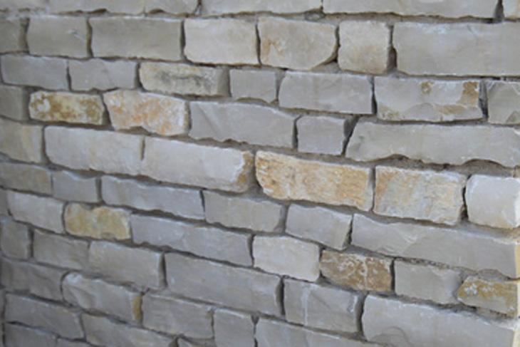 L ment de mur bourgogne en calcaire brut plateforme for Deco 6 brumath