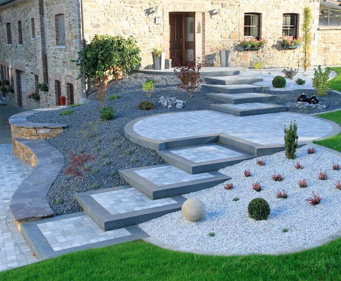 Pierres naturelles plateforme compostage et produits for Pierre de decoration pour jardin