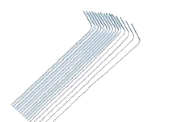 Piquets pour gazon synth tique 35 cm plateforme compostage et produits pour - Preparation sol pour gazon synthetique ...